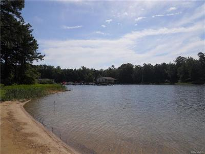Chesterfield County Residential Lots & Land For Sale: 20013 Chesdin Harbor Drive