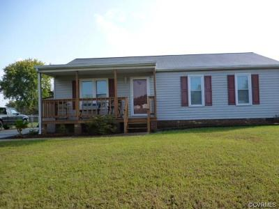 Chesterfield VA Single Family Home For Sale: $162,500