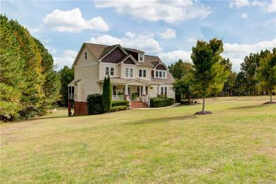 Powhatan County Single Family Home For Sale: 3838 Mill Mount Drive
