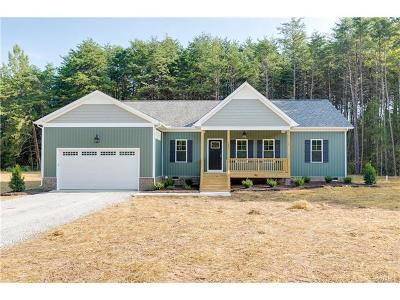 Goochland Single Family Home For Sale: 3762 Boundary Run Road