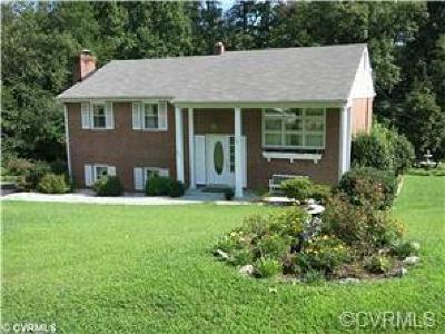 Chesterfield VA Single Family Home For Sale: $183,950