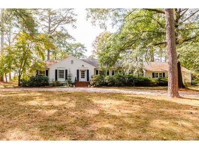 Walkerton VA Single Family Home For Sale: $425,000