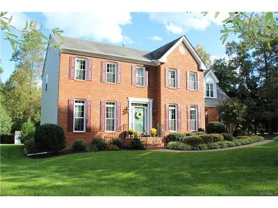 Chesterfield VA Single Family Home For Sale: $339,000
