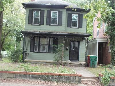 Petersburg Single Family Home For Sale: 406 Clinton Street