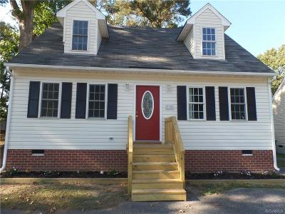 Hopewell Single Family Home For Sale: 2148 Dellrose Drive