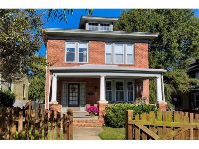 Richmond Single Family Home For Sale: 3111 Semmes Avenue