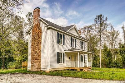 Goochland Single Family Home For Sale: 2300 Cartersville Road