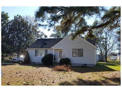 Hopewell Single Family Home For Sale: 1102 Blackstone Avenue