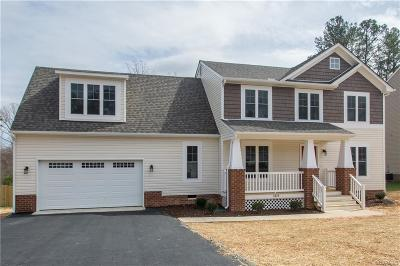 Midlothian VA Single Family Home Sold: $289,000