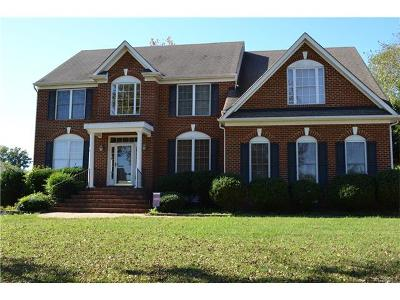 Chesterfield VA Single Family Home For Sale: $359,950