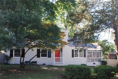 Henrico County Single Family Home For Sale: 8703 Gayton Road