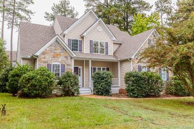 Chesterfield VA Single Family Home For Sale: $298,900