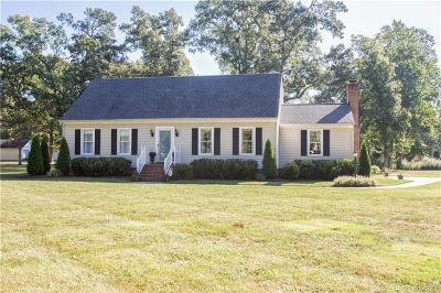 Hanover County Single Family Home For Sale: 10260 Fenholloway Drive