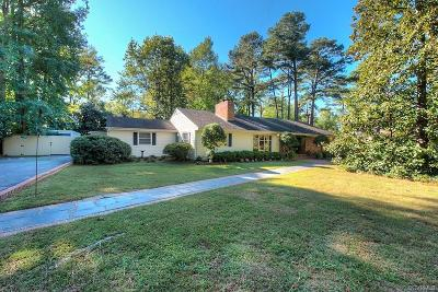 Richmond Single Family Home For Sale: 3906 Margate Drive