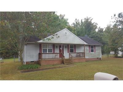 Hopewell Single Family Home For Sale: 3606 Woodside Court