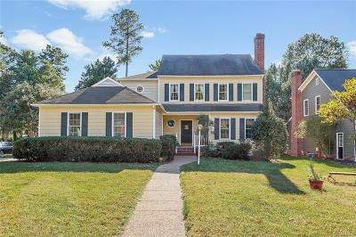 Henrico County Single Family Home For Sale: 12101 Carmon Court