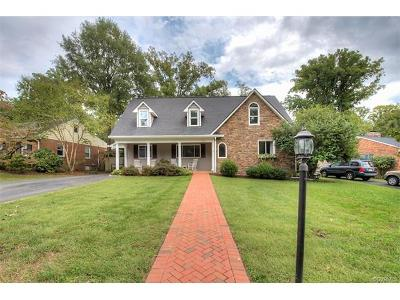 Henrico County Single Family Home For Sale: 7627 Bryn Mawr Road