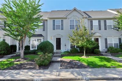 Henrico County Condo/Townhouse For Sale: 9206 Stone Meadow Drive #9206