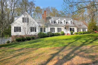 Chesterfield County Single Family Home For Sale: 13400 Kingsmill Road