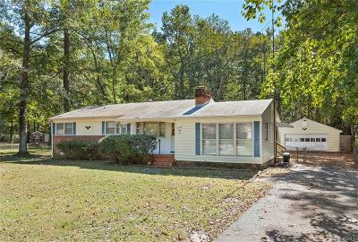 Chesterfield VA Single Family Home For Sale: $134,950