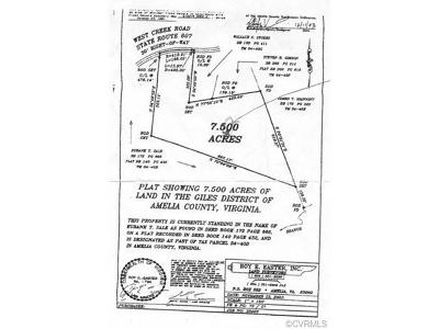 Amelia Residential Lots & Land For Sale: 0000 West Creek Road