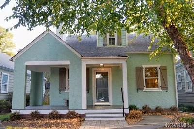 Richmond Single Family Home For Sale: 1327 Amherst Avenue