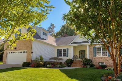 Chesterfield VA Single Family Home For Sale: $329,000