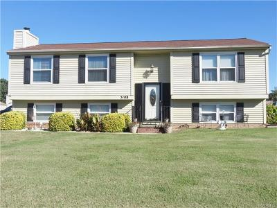 Henrico Single Family Home For Sale: 5108 Bending Branch Court