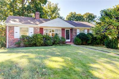 Henrico Single Family Home For Sale: 7809 Dasher Road