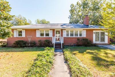 Hopewell Single Family Home For Sale: 3106 Western Street