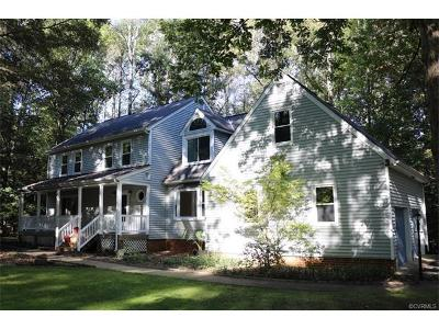 Powhatan County Single Family Home For Sale: 1830 Rock Point Drive