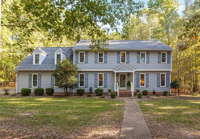 Powhatan County Single Family Home For Sale: 1310 King William Woods Road