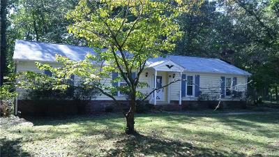 Chesterfield VA Single Family Home For Sale: $159,900