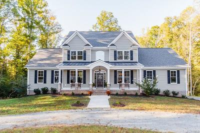 Mechanicsville Single Family Home For Sale: 8171 Turners Mill Drive