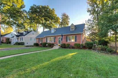Henrico Single Family Home For Sale: 1203 Camden Drive