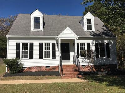 Hanover County Single Family Home For Sale: 6124 Thyme Drive