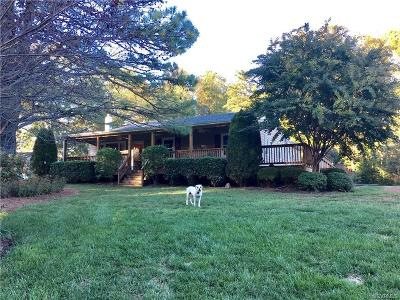 Hanover County Single Family Home For Sale: 16520 Old Ridge Road