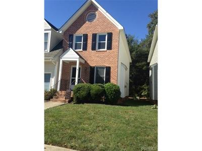 Chesterfield County Condo/Townhouse For Sale: 7060 Pine Orchard Court #7060