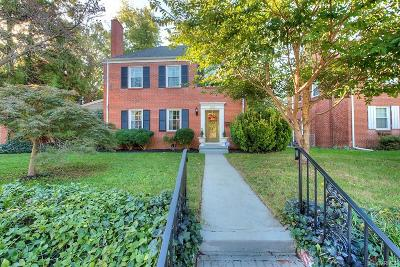 Richmond Single Family Home For Sale: 1927 Maple Shade Lane