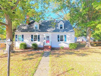 Henrico Single Family Home For Sale: 2826 Maplewood Road