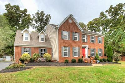 Chesterfield VA Single Family Home For Sale: $385,000