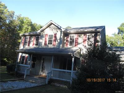 Louisa Single Family Home For Sale: 98 Admiral Drive