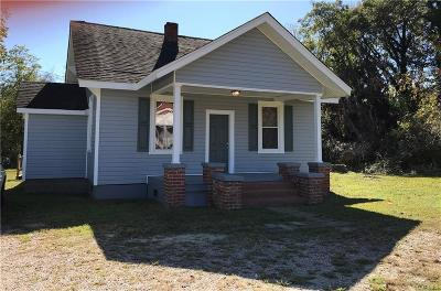 Petersburg Single Family Home For Sale: 2014 Boydton Plank Road
