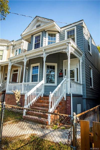 Richmond Single Family Home For Sale: 1311 North 20th Street