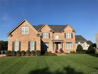 Chesterfield County Single Family Home For Sale: 13906 Tobacco Bay Place