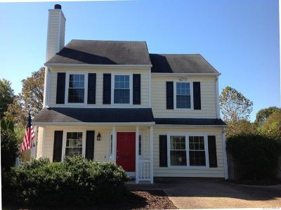 Chesterfield County Single Family Home For Sale: 5900 Misty Oak Court