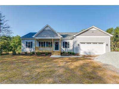 Goochland Single Family Home For Sale: 2.73 Acres Three Bridge Road