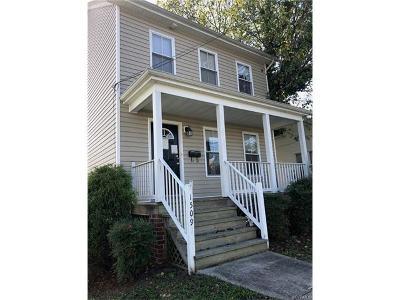 Richmond Single Family Home For Sale: 1509 Williamsburg Road