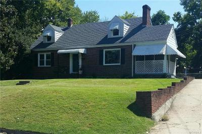 Colonial Heights VA Single Family Home For Sale: $178,500