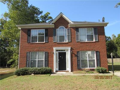 Chesterfield County Single Family Home For Sale: 9710 Ransom Hills Turn